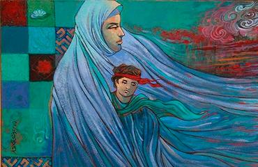 آثار هنری شهدای استان